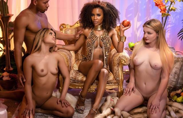 Бразерс - Красивый секс темнокожей парочки с окончанием внутрь